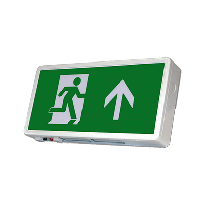 EMP - Emergency Run Sign - Wall Mounted
