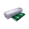 ledrunmanbulkhead 100x100 - Emergency LED Bulkhead - BRI 16M