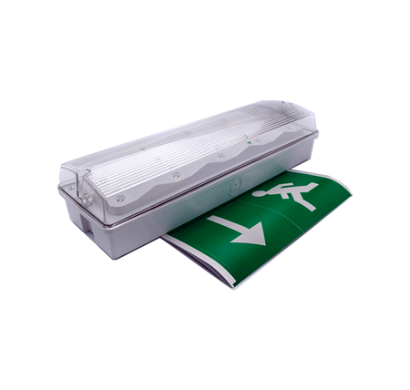 ledrunmanbulkhead - Emergency LED Bulkhead - BRI 16M