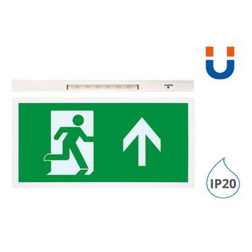 5055788225362c 360x - 5W Maintained Led Exit Sign Box With Up Arrow Lege - Integral