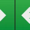 108326 100x100 - Running Man Legend (kit of 2) with Left/Right Facing Arrow for EMEXIT / EMLREC / EMLSUS / EMXST