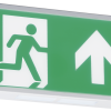 111726 100x100 - 230V IP20 Wall Mounted LED Emergency Exit sign (maintained/non-maintained)