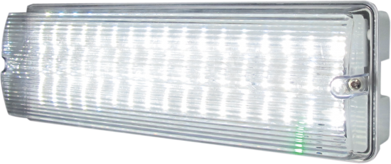 112824 550x232 - 230V IP65 6W LED Emergency Bulkhead (maintained/non-maintained)