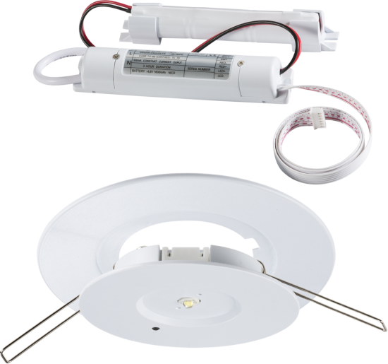 149776 550x515 - 3W LED EMERGENCY DOWNLIGHT (Non-maintained )