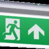 178868 100x100 - 230V IP20 4W LED Self-Test Exit Sign
