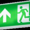 349234 100x100 - 230V IP20 4W LED Emergency Exit Sign - Self-Test
