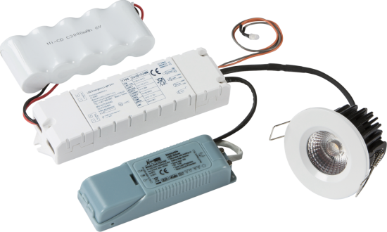 8539 550x330 - VFR LED 3hr Emergency Conversion Kit (maintained and non-maintained)